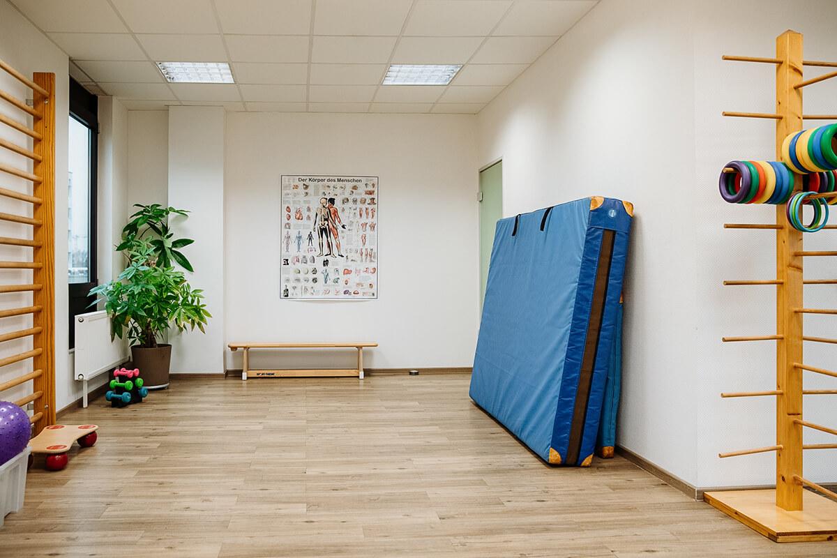 Praxisraum in der Praxis für Ergotherapie Köln-Süd