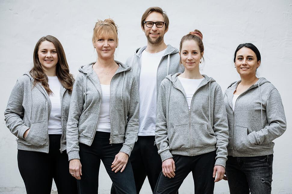 Unser Team der Praxis für Ergotherapie Köln-Süd